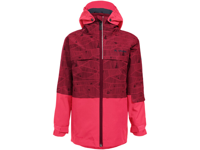 VAUDE Snow Cup 3in1 Jacket All Over Print Barn Crocus